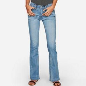 * Express Jeans Stretch Denim without back pockets